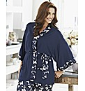 Pretty Secrets Kimono Wrap Gown L30