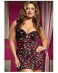 Seven Til Midnight Kisses Chemise