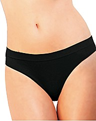 Comfortisse Pack of 3 Hi Leg Panties