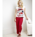 Betty Boop Hello Sailors Pyjama Set