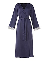 Joanna Hope Matt Satin Wrap Gown L52