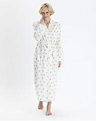 Miliarosa Floral Print Wrap Gown L50