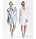 Pretty Secrets Pack of 2 Nightshirts