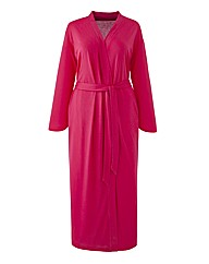 Pretty Secrets Wrap Gown Hot Pink