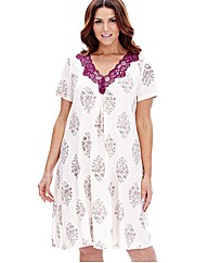 Pretty Secrets Nightdress Black Spot