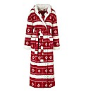 Pretty Secrets Cuddle Fleece Gown L50