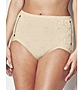MAGISCULPT Pack of 3 Lace Control Briefs