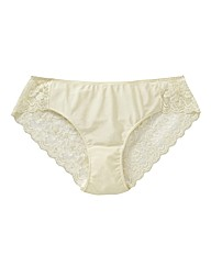 Naturally Close High Leg Lace Briefs