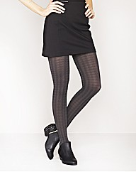Naturally Close Opaque Dogtooth Tights
