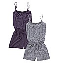 Pretty Secrets Pack of 2 Playsuits
