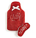 Pretty Secrets Hot Water Bottle Gift Set