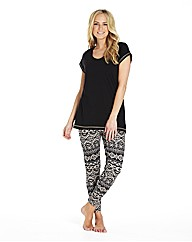 Pretty Secrets T Shirt and Leggings Set