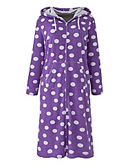 Pretty Secrets Velour Zip Gown L44 Spot