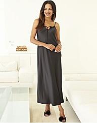 Joanna Hope Luxury Maxi Chemise Black