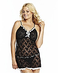 Naturally Close Lace Babydoll L31