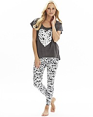 Pretty Secrets PK2 T and Leggings Set