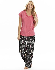 Pretty Secrets Pack of 2 Pyjamas L30