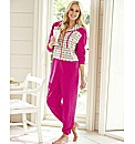 Pretty Secrets Placement Print Onesie