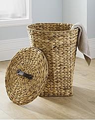 Water Hyacinth Laundry Hamper