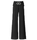 Trouser With Sash And Buckle Length 29in