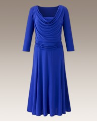 Cowl Neck Dress Length 48in