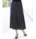 Printed Skirt Length 32in