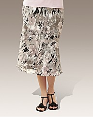 Slimma Signature Floral Skirt L32in