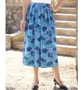 Printed Panel Skirt Length 27in