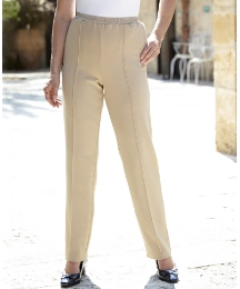 Slimma Stretch Rib Trouser Length 27in