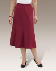 Slimma Tailored Panel Skirt Length 27in
