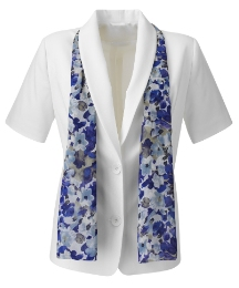 Heather Valley Tailored Jacket And Scarf