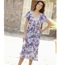 Print Dress Length 48in