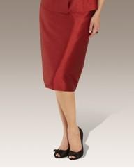 Shantung Skirt Length 25in