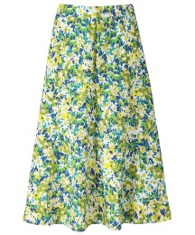 Cotton Print Skirt Length 29in