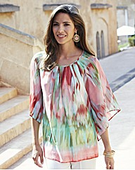 Nightingales Print Tunic