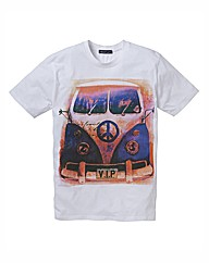 Label J Campervan T-Shirt Long