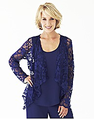 Nightingales Lace Waterfall Blouse