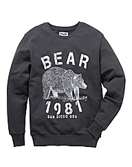 Label J Crew Neck Jumper Reg