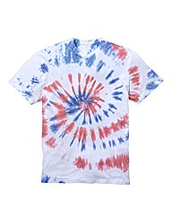Label J Tie Dye T-Shirt Long