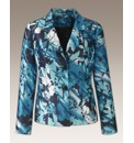 Jacket Lined With All Over Print