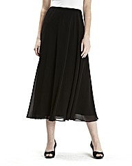 Chiffon Skirt Length 34in