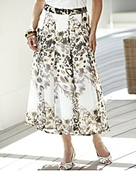 Skins Printed Skirt Length 32in