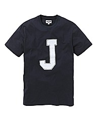 Label J Applique Tshirt Long