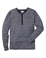 Label J Long Sleeved Grandad Top Long