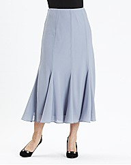 H&O Skirt with Godets Length 32in