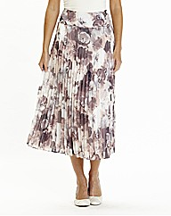 Nightingales Pleated Skirt L32in