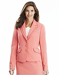 Tailored Jacket with Pleat Detail