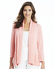 Nightingales Peplum Cardigan