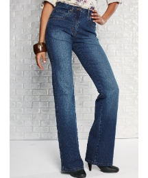 Stretch Bootcut Jeans Length 31in