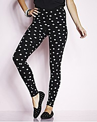 Daisy Print Leggings